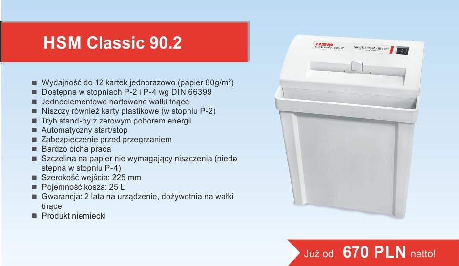 Niszczarka HSM 90.2