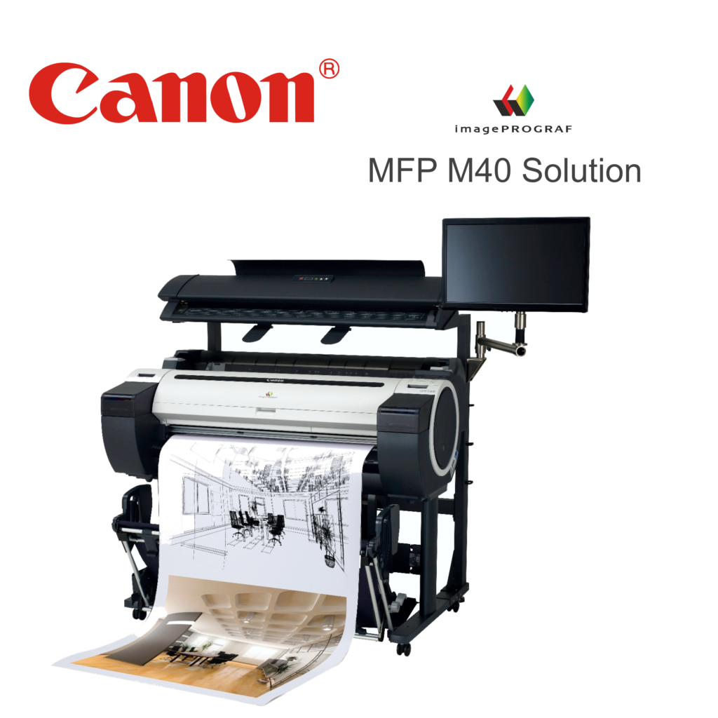 Ploter Canon iPF MFP M40 solution