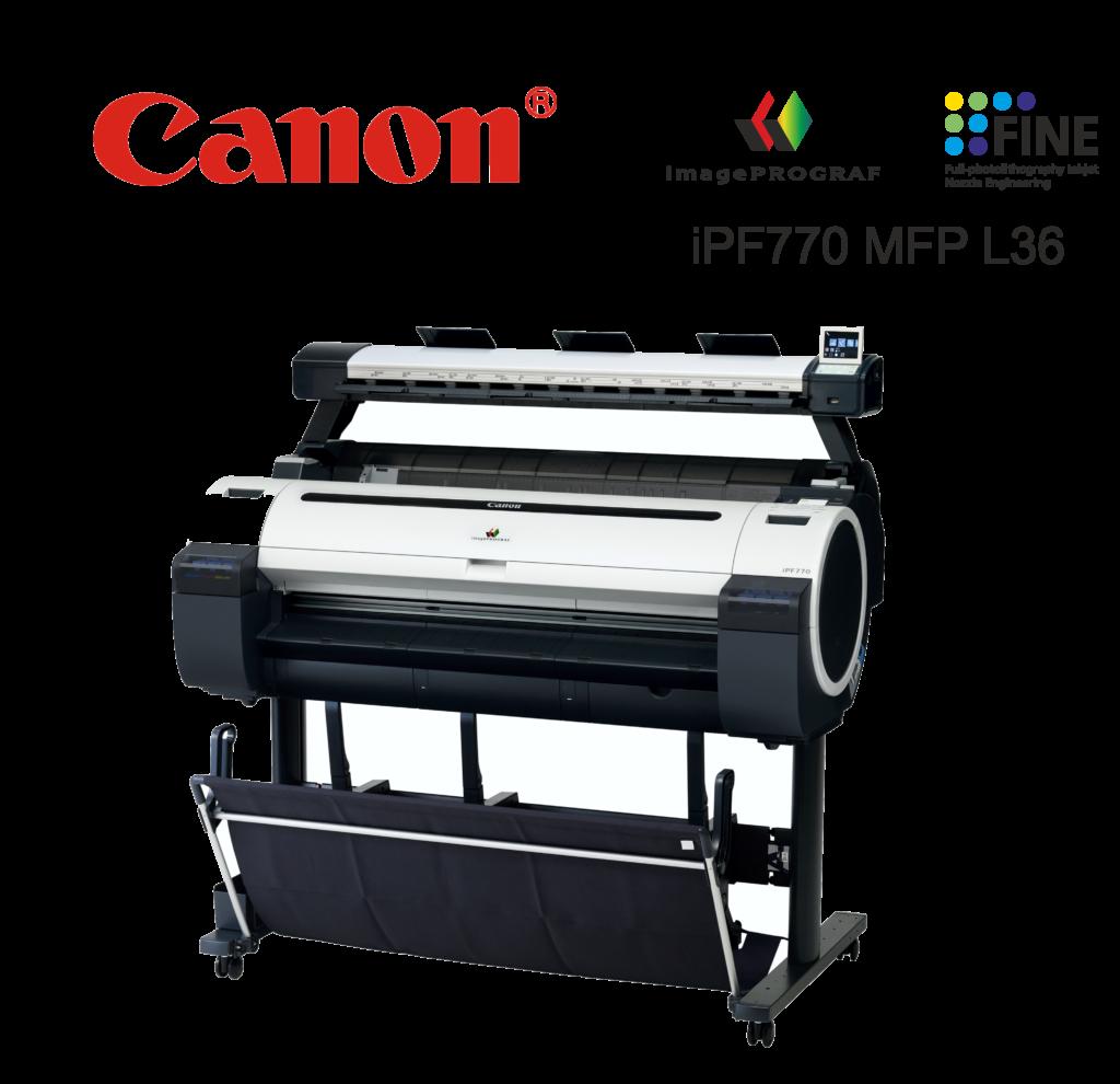 Ploter Canon iPF 770 L36 MFP